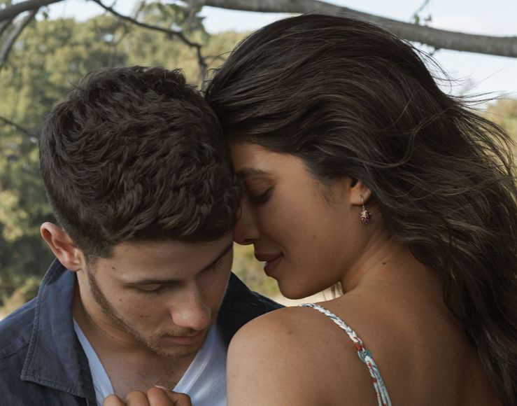 See Nick & Priyanka's Digital Vogue Covers