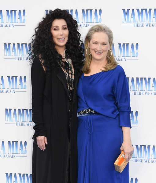The Time Cher & Meryl Streep Saved a Woman's Life