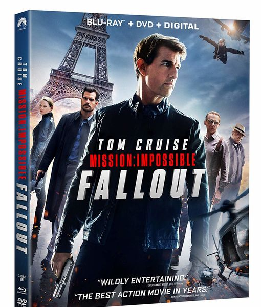 Win It! 'Mission: Impossible Fallout' on Blu-ray, DVD & Digital