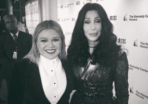 Kelly Clarkson Talks Fangirling Over Cher