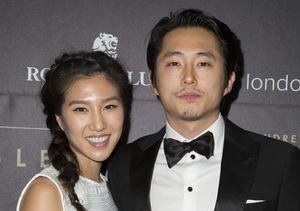 Baby Bump Alert! 'Walking Dead' Alum Steven Yeun & Wife Joana Pak…