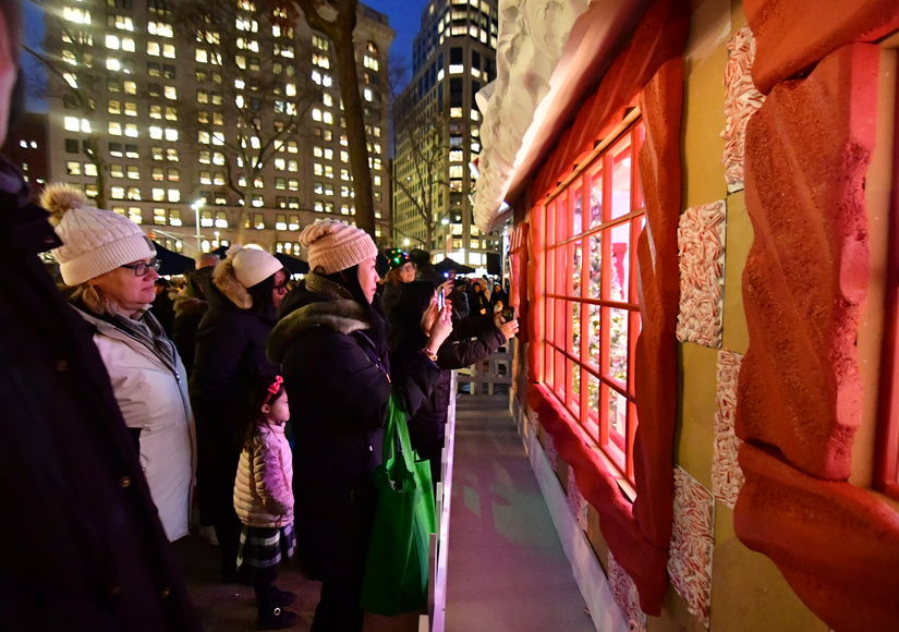 Get in the Holiday Spirit at Gingerbread Boulevard in NYC
