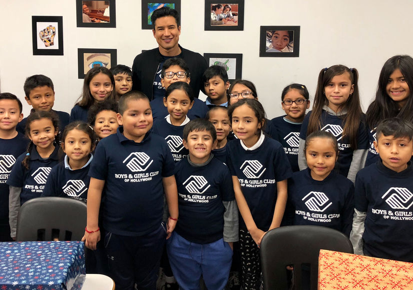 Santa Mario Lopez's Holiday Surprise for the Kids at Boys & Girls Club!
