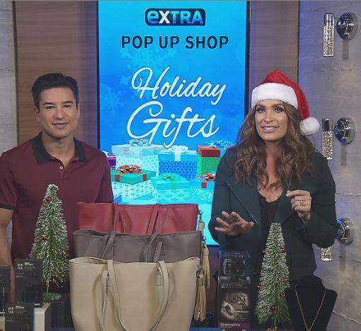 'Extra's' Holiday Pop-Up Shop: Bluetooth Headphones, Charging Bags, HD Action…
