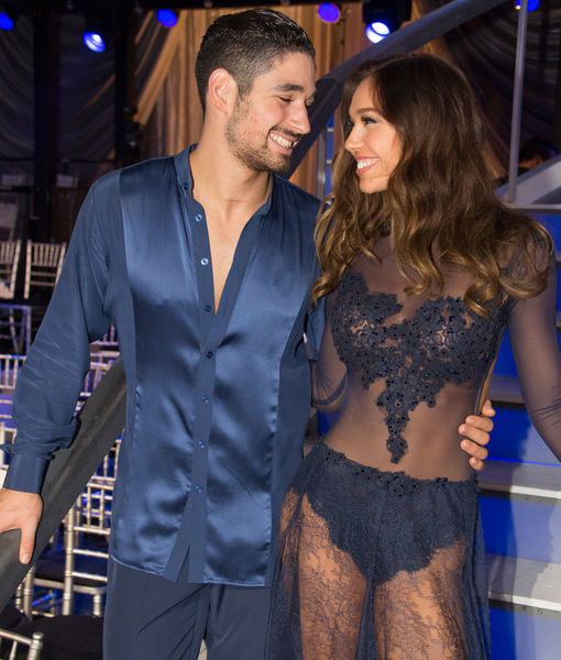 'DWTS' Couple Alexis Ren & Alan Bersten Split