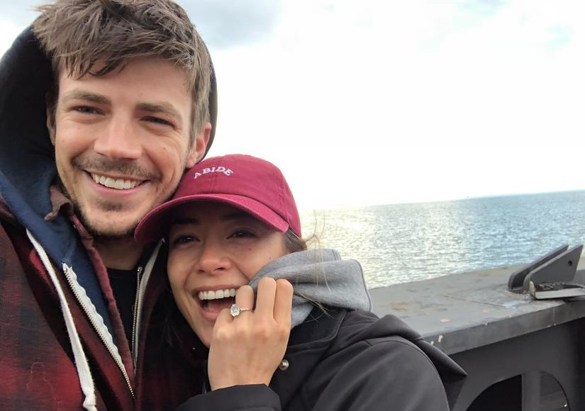 Grant Gustin Marries LA Thoma