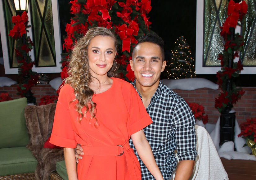 Why Carlos PenaVega Sent His 'Midnight Kissing' Ending Scene to Wife Alexa