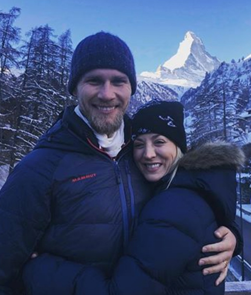 Kaley Cuoco & Karl Cook's Switzerland Honeymoon