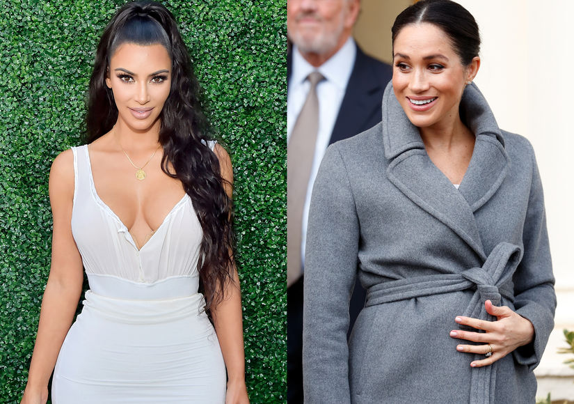 Rumor Bust! Kim K Is Not Trying to Befriend Meghan Markle with an Expensive Baby Gift