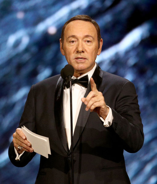 Kevin Spacey Makes Poetically Bizarre Appearance