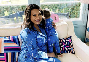 Mindy Kaling Shares Rare Pic of Daughter on Christmas Eve