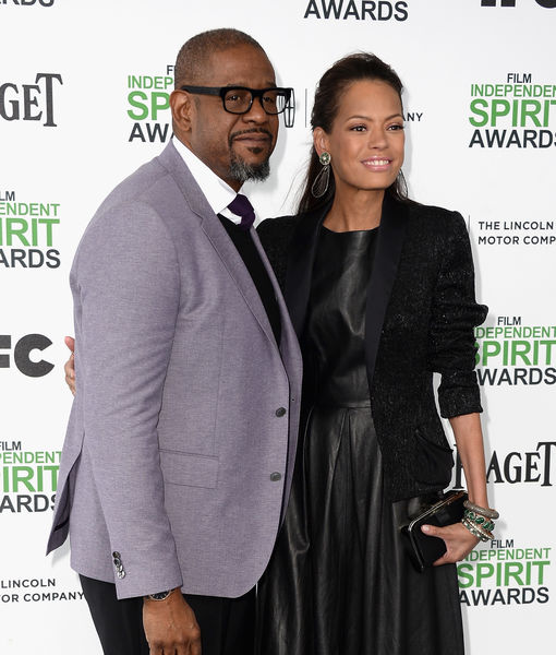 Forest Whitaker & Wife Keisha Split After 22 Years of Marriage