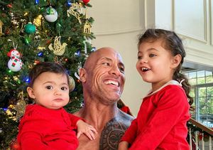 How Dwayne Johnson's Daughters Keep Him on His Toes