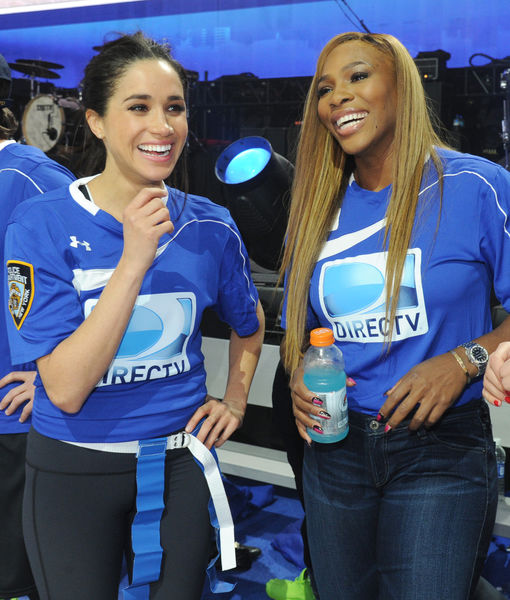 How Serena Williams Keeps in Touch with Meghan Markle