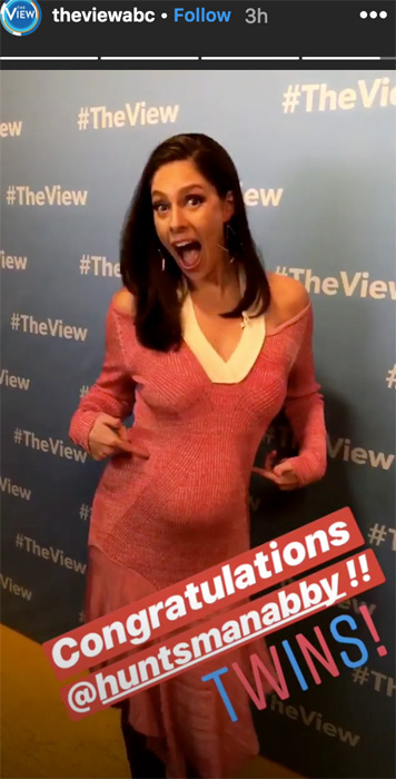 Abby Huntsman Twins >> Celebrity Baby Boom! Stars Who Just Announced They Are