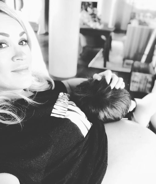 Carrie Underwood Bares Baby Bump at 9 Months