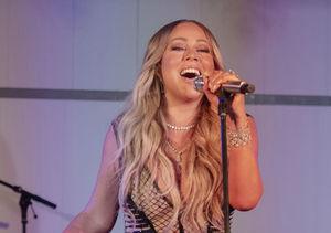 Mariah Shares Teenie-Weenie Bikini Snap
