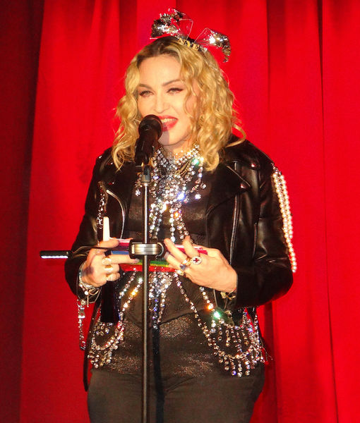 Madonna Claps Back at Body Shamers in a Very Madonna Way