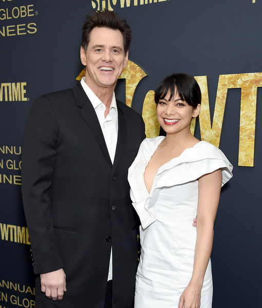 Jim Carrey & Ginger Gonzaga Split
