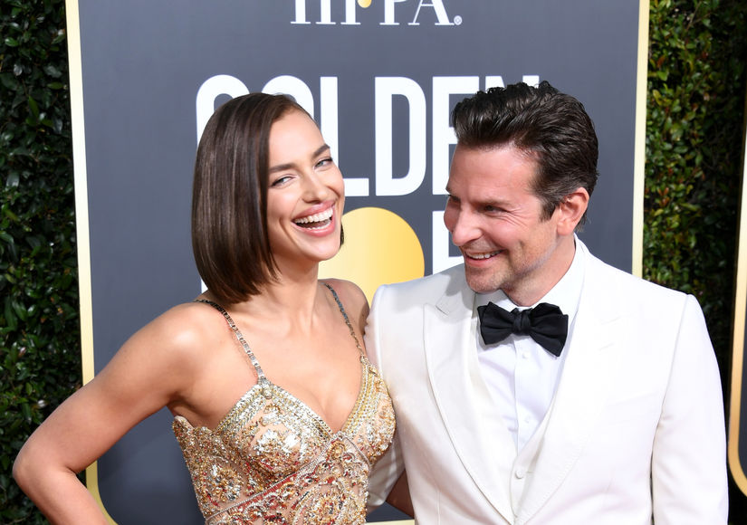 Bradley Cooper & Irina Shayk Make Golden Globes Debut
