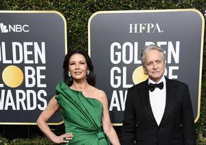 Michael Douglas & Catherine Zeta-Jones Take 'Extra's' Couple Quiz at…