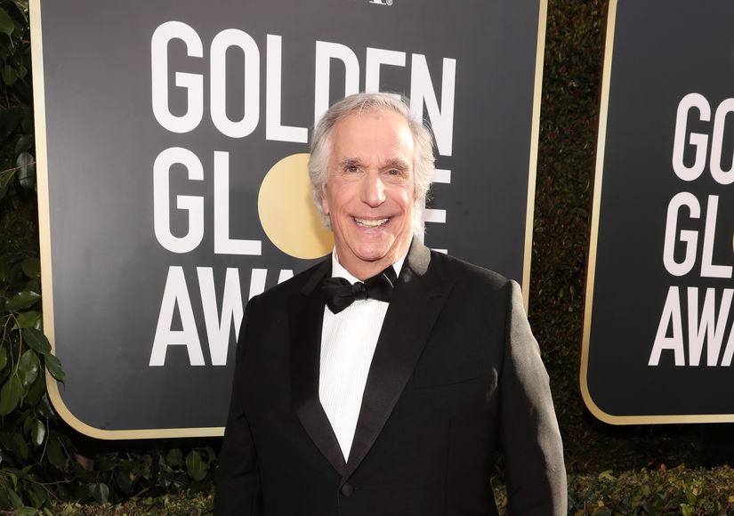 Henry Winkler Remembers Penny Marshall at Golden Globes