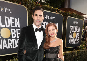 Isla Fisher Drips in More Than $5.5M in Diamonds at the Golden Globes