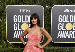 Fashion Secret! Why Jameela Jamil Wore Jeans Under Her Golden Globes 2019 Dress