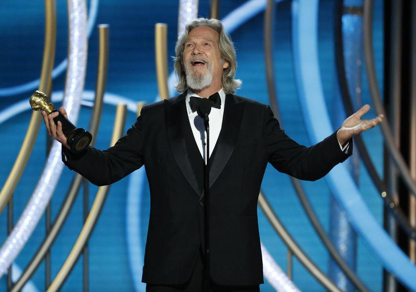 Jeff Bridges on Preparing for That Epic Golden Globes Speech