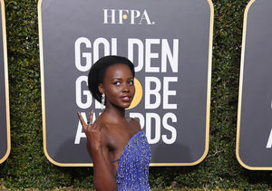 Lupita Nyong'o Rocked $45 Heels at the Golden Globes