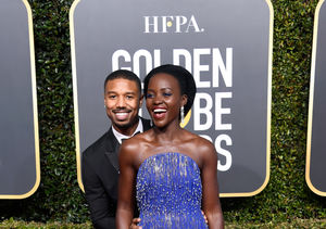 LOL! Michael B. Jordan & Lupita Nyong'o's Elevator Makeout Isn't What…