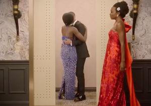 LOL! Michael B. Jordan & Lupita Nyong'o's Elevator Makeout…