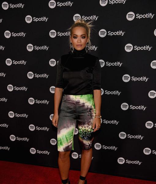 Rita Ora Reacts to Nick Grimshaw Wearing Her Bikini