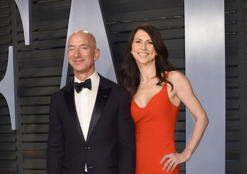 $140-Billion Divorce! Amazon CEO Jeff Bezos & Wife MacKenzie Split
