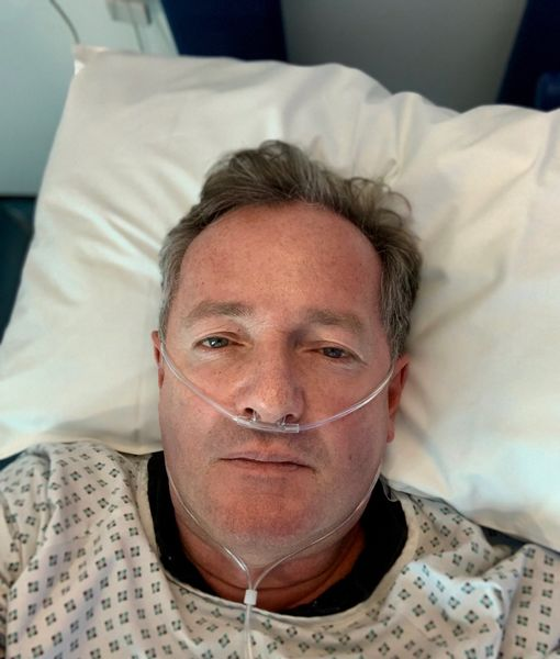 Piers Morgan Hospitalized