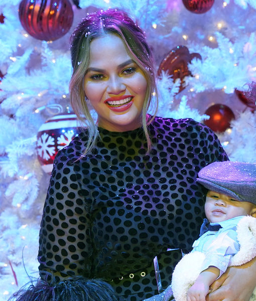 Chrissy Teigen Needs Your Help Dressing 'Mini-John'!