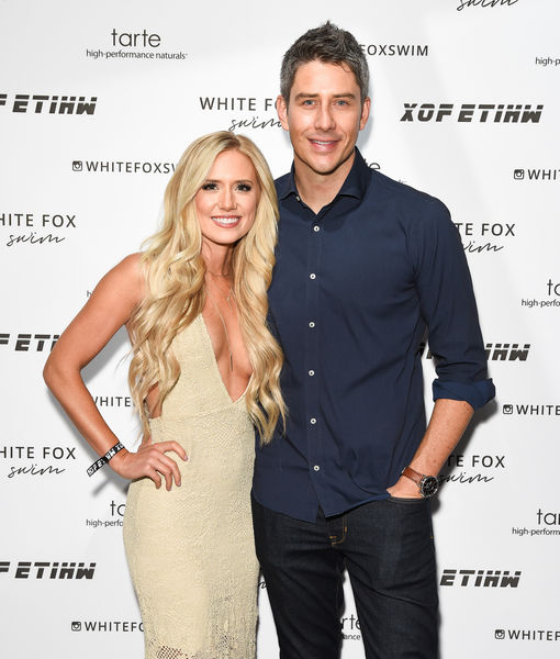 """Wedding bells have rung for """"The Bachelor"""" stars Arie Luyendyk Jr. and Lauren Burnham, who Us Weekly confirms were wed Saturday at the Haiku Mill in Maui."""