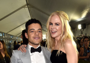 Rami Malek & Nicole Kidman Had a 'Good Laugh' About Their Gone…