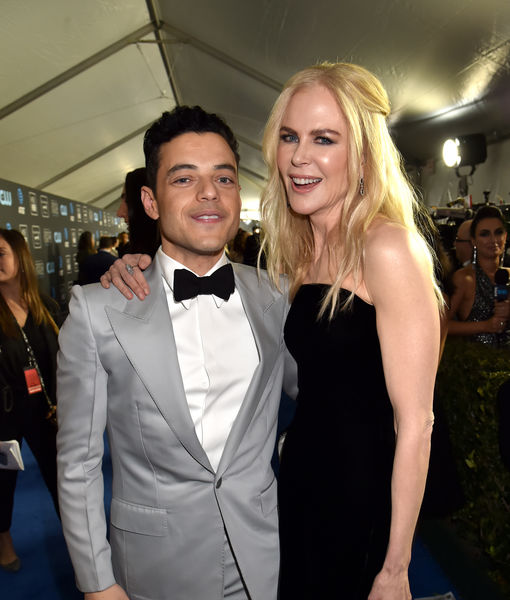 Rami Malek & Nicole Kidman Had a 'Good Laugh' About Their Gone Viral-Golden Globes Moment