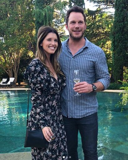 Image result for Chris Pratt and Katherine Schwarzenegger
