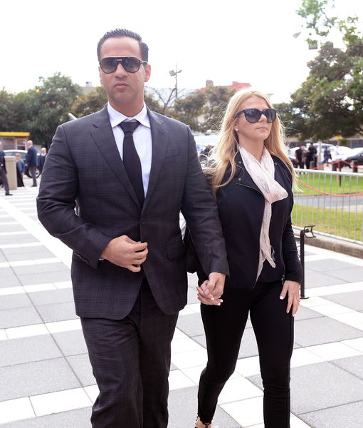 'Jersey Shore's' Mike 'The Situation' Sorrentino Checks Into Prison