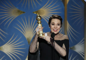 Olivia Colman Jokes About Why She Plays Queens