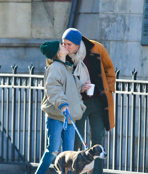 PDA Alert! Sienna Miller & Much Younger BF Lucas Zwirner Make Relationship Official