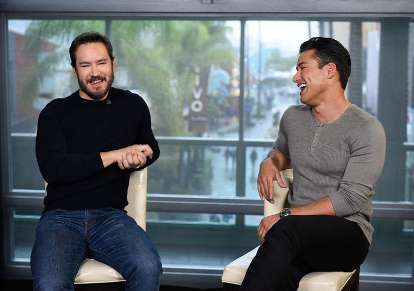 'Saved by the Bell' Reunion! Mario Lopez Catches Up with Mark-Paul Gosselaar