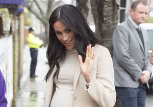 Meghan Markle Stuns in $35 Maternity Dress by H&M