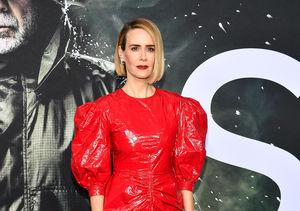 Sarah Paulson Rocks Mismatched Shoe Trend at 'Glass' Premiere!