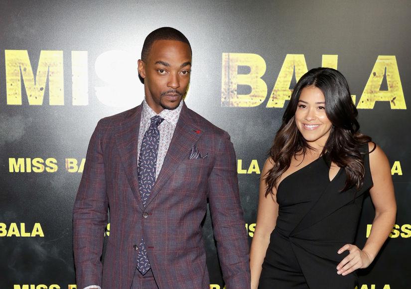 Why Anthony Mackie Kept Apologizing to Gina Rodriguez on 'Miss Bala' Set
