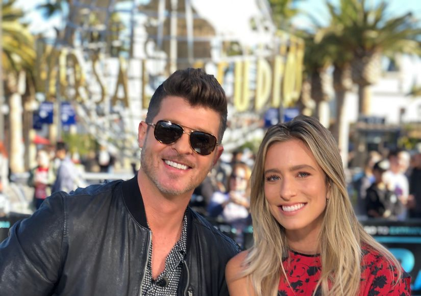 Who's the Poodle? Robin Thicke Dishes on 'The Masked Singer'