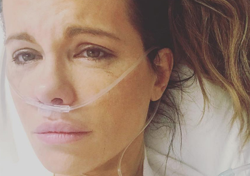 Kate Beckinsale Hospitalized