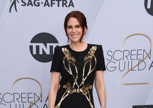 Megan Mullally's Surprise Fashion Revelation at the SAG Awards